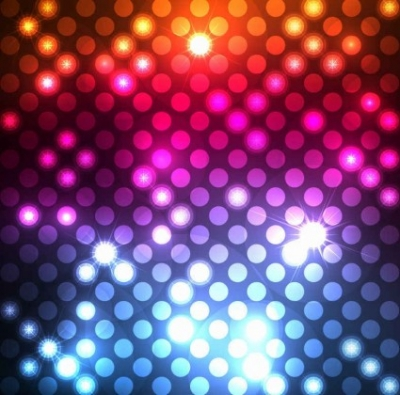 Free vector Vector background  Abstract Light Dots Background Vector Graphic