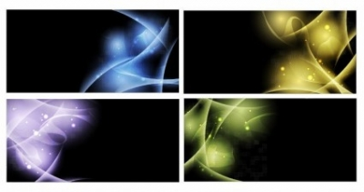 Free vector Vector abstract  Abstract Light Vector Background Set