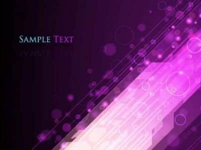 Free vector Vector background  Abstract Lights Purple Background