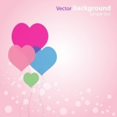 Free vector Vector abstract  Abstract Love Background