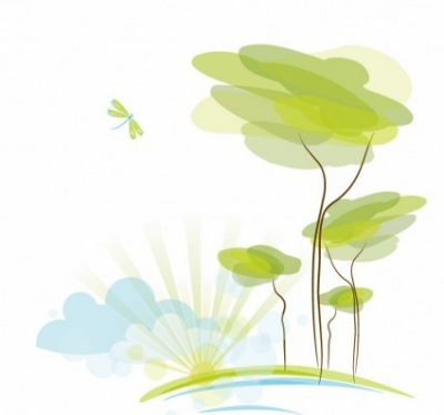 Free vector Vector abstract  Abstract Nature Background Vector Illustration