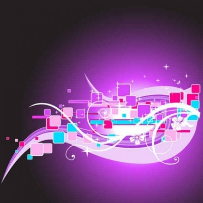 Free vector Vector background  Abstract purple vector background