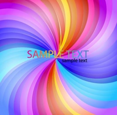 Free vector Vector abstract  Abstract Rainbow Stripe Vector Background