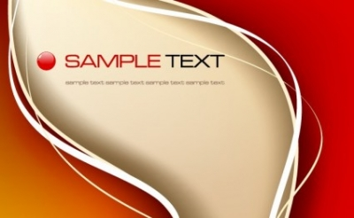 Free vector Vector abstract  Abstract Red Background/Template