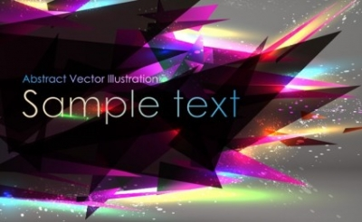Free vector Vector abstract  Abstract Sharp Triange Background