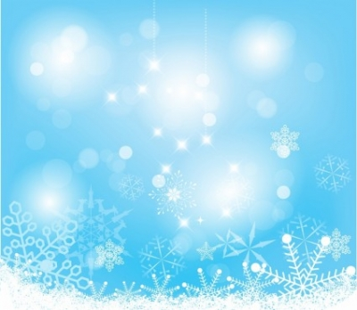 Free vector Vector Christmas  Abstract snow background