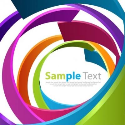 Free vector Vector abstract  Abstract Spiral Color Background