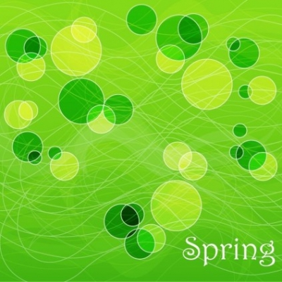 Free vector Vector abstract  Abstract Spring Background