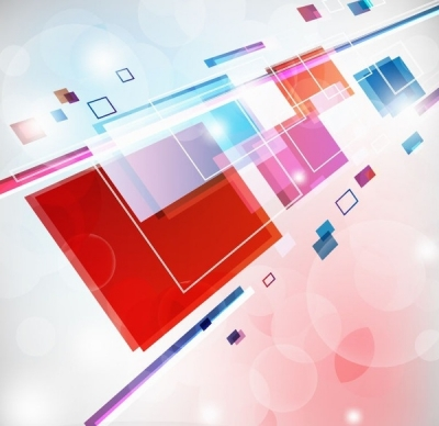 Free vector Vector abstract  Abstract Square Colorful Background