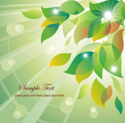Free vector Vector floral  Abstract Summer Floral Vector Illustration
