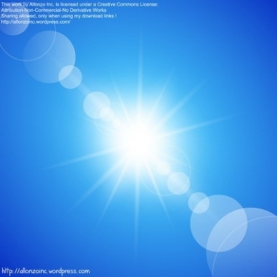 Free vector Vector abstract  Abstract Sunny Blue Sky Background