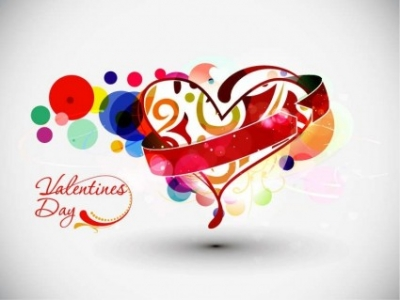 Free vector Vector abstract  Abstract Valentine's Day Vector Art