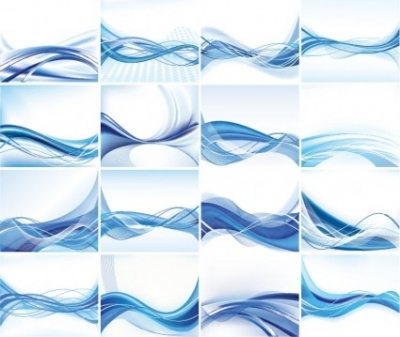 Free vector Vector abstract  Abstract Vector Background Set