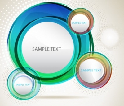 Free vector Vector abstract  Abstract vector circles background