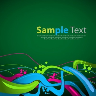 Free vector Vector abstract  Abstract Wave Background