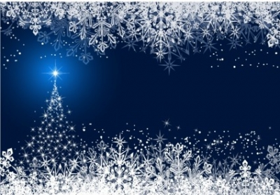 Free vector Vector Christmas  Abstract Winter background