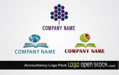 Free vector Vector misc  Accountancy Logo Pack