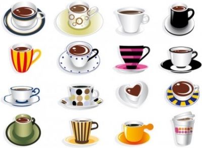 Free vector Vector misc  all kinds of fine coffee vector