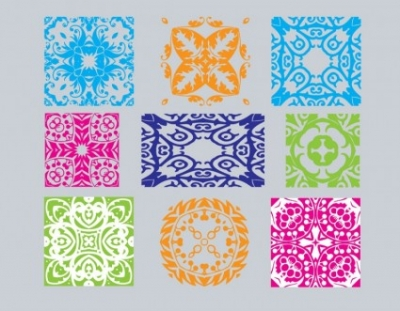 Free vector Vector misc  Art Deco Ornaments