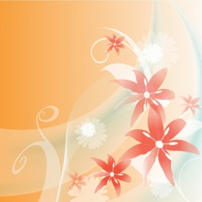 Free vector Vector floral  Baby  floral