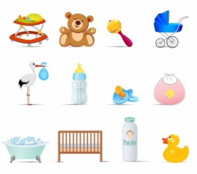 Free vector Vector icon  Baby Icons