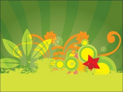 Free vector Vector flower   								Background