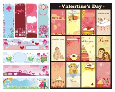 Free vector Vector background  background vector cute valentine day