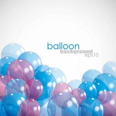 Free vector Vector background  Balloon Background EPS