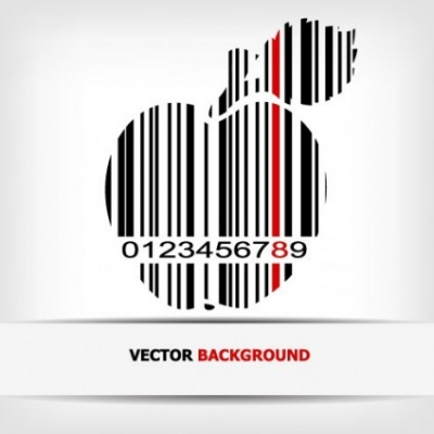 Free vector Vector background  barcode background 02 vector