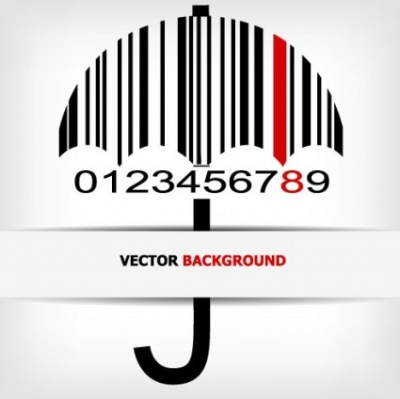 Free vector Vector background  barcode background 04 vector