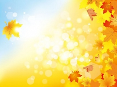 Free vector Vector background  beautiful autumn background 05 vector