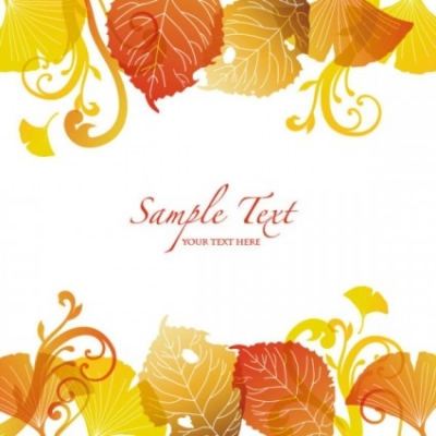 Free vector Vector background  beautiful autumn leaf background 03 vector