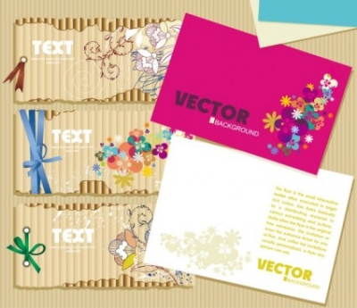 Free vector Vector misc  beautiful card 01 vector