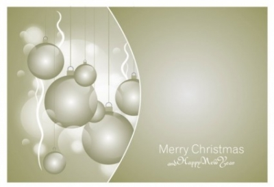 Free vector Vector Christmas  beautiful christmas ball 09 vector
