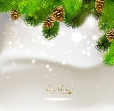 Free vector Vector background  beautiful christmas ball background 02 vector