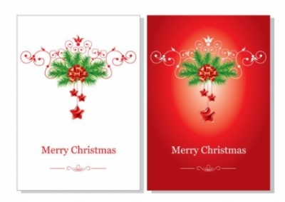 Free vector Vector Christmas  beautiful christmas cards vector