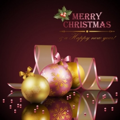 Free vector Vector Christmas  beautiful christmas decoration elements 01 vector