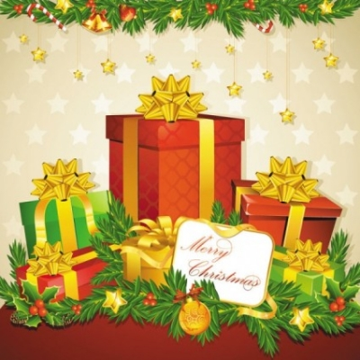 Free vector Vector Christmas  beautiful christmas elements 04 vector