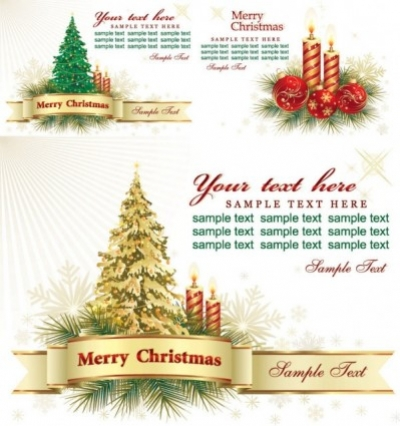 Free vector Vector background  beautiful christmas greeting card background vector