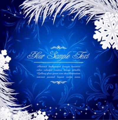 Free vector Vector background  beautiful christmas snow background vector