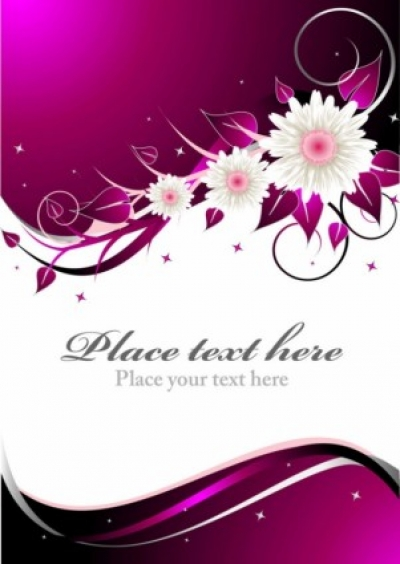 Free vector Vector background  beautiful floral retro background 03 vector