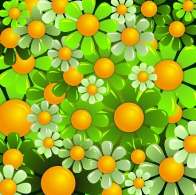 Free vector Vector background  Beautiful Flowers Background