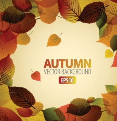 Free vector Vector background  beautiful maple leaf background 03 vector