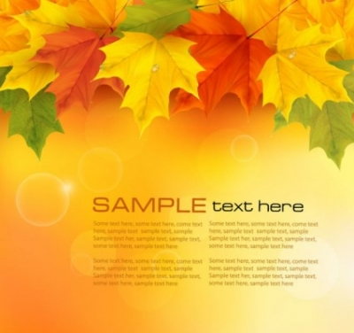 Free vector Vector background  beautiful maple leaf background 05 vector