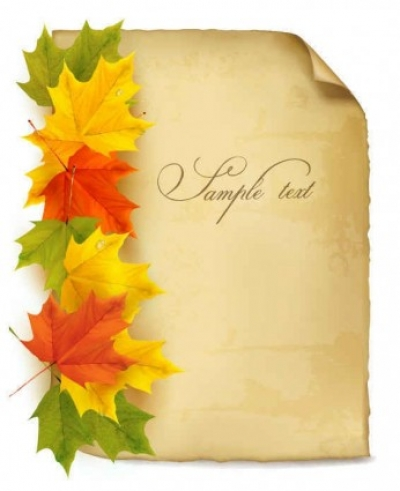 Free vector Vector background  Beautiful maple leaf background vector001