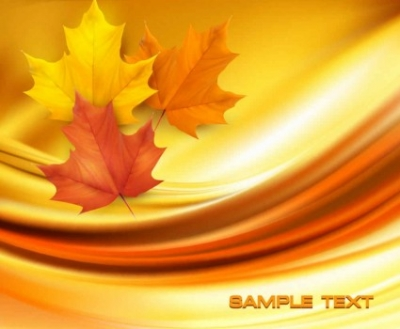 Free vector Vector background  Beautiful maple leaf background vector