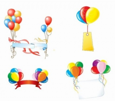 Free vector Vector misc  Beautiful Party Balloons Vector