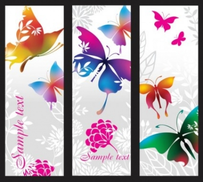 Free vector Vector banner  beautiful pattern banner 02 vector