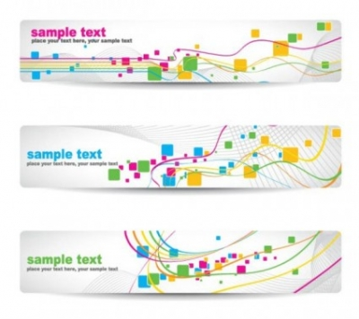 Free vector Vector banner  beautiful pattern banner 05 vector