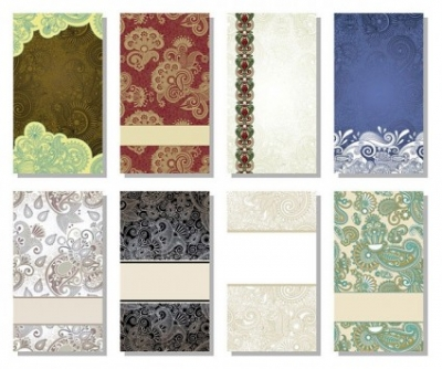 Free vector Vector background  beautiful pattern card background vector 1